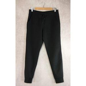 32 Degrees Black Fleece Tech Jogger Pants S